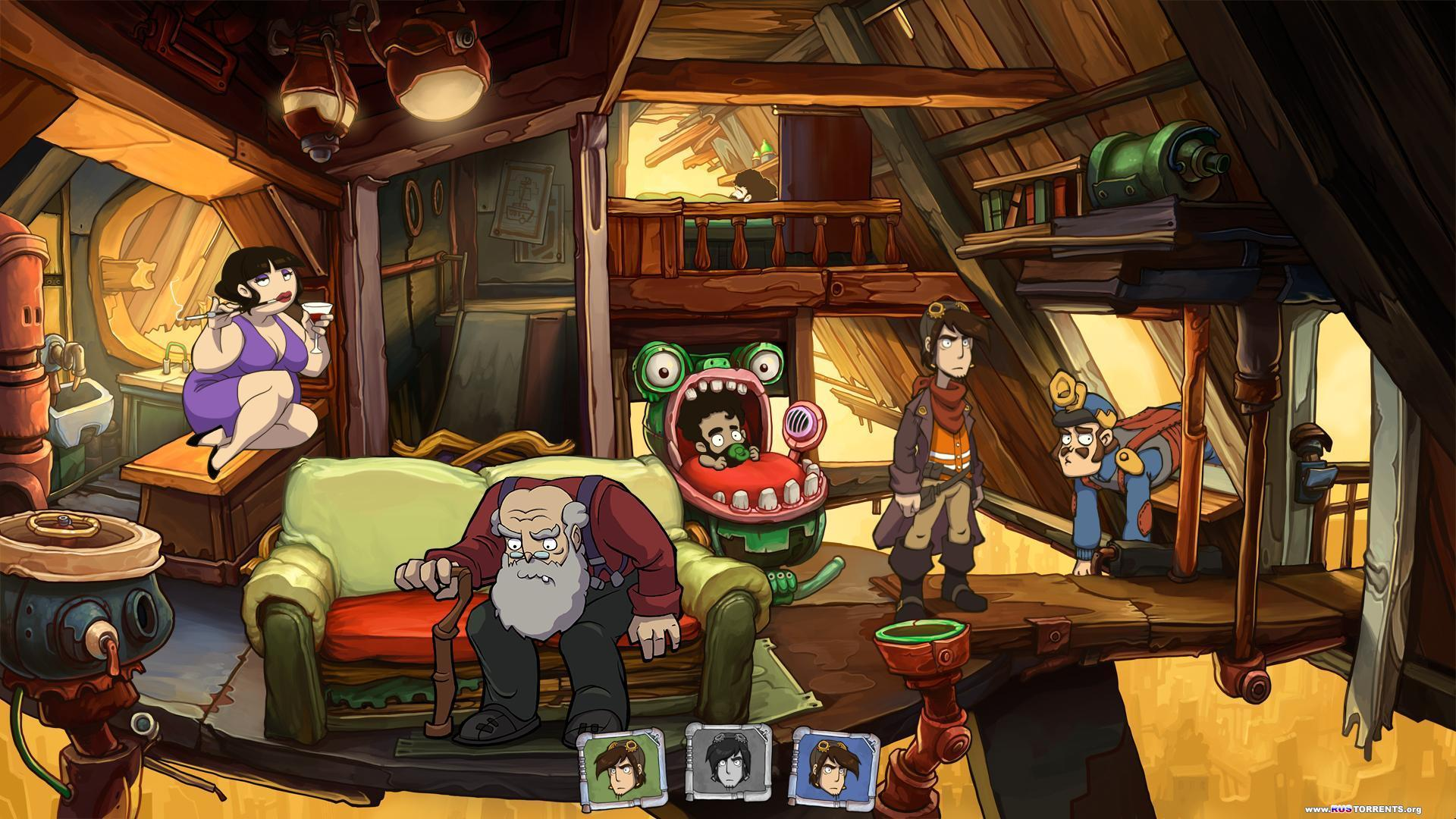 Goodbye Deponia - Premium | Steam-Rip от R.G. Игроманы