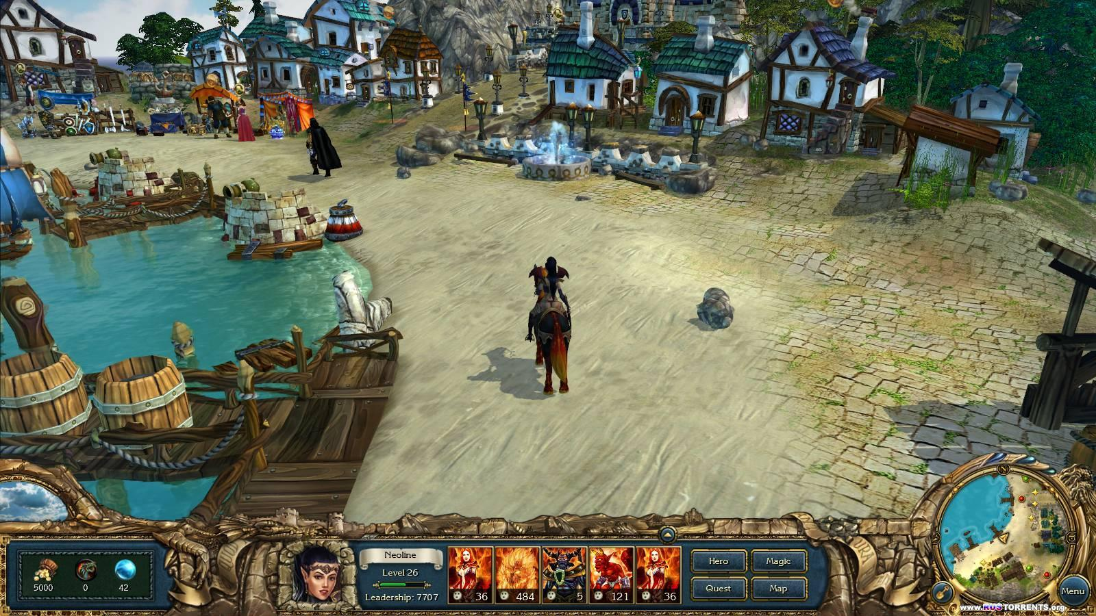 King's Bounty: Темная Сторона | РС | Steam-Rip от R.G. Игроманы