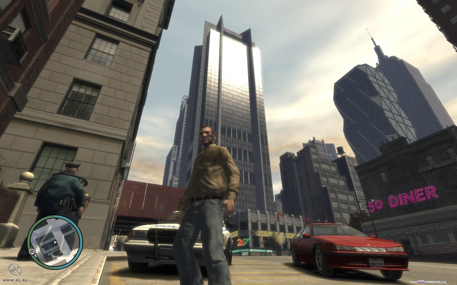 Grand Theft Auto IV [v.1.0.7.0] | РС | RePack by R.G. Packers
