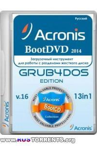 Acronis BootDVD 2014 Grub4Dos Edition v.16 13 in 1 RUS