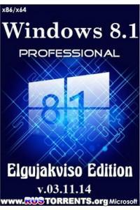 Windows 8.1 Pro x86/x64 Elgujakviso Edition v.03.11.14 RUS
