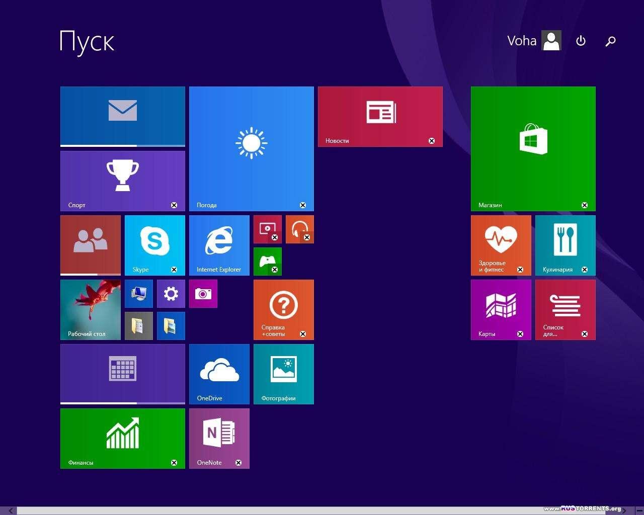 Windows 8.1 Update1 Core/Pro/Enterprise x86/x64 6.3 9600.17031 MSDN by Progmatron 22.04.2014 RUS