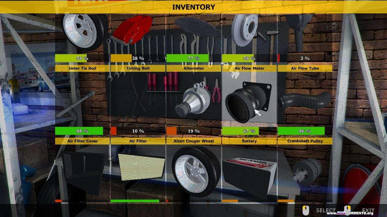 Car Mechanic Simulator 2014 [v 1.0.7.3] | PC | RePack от R.G. Revenants