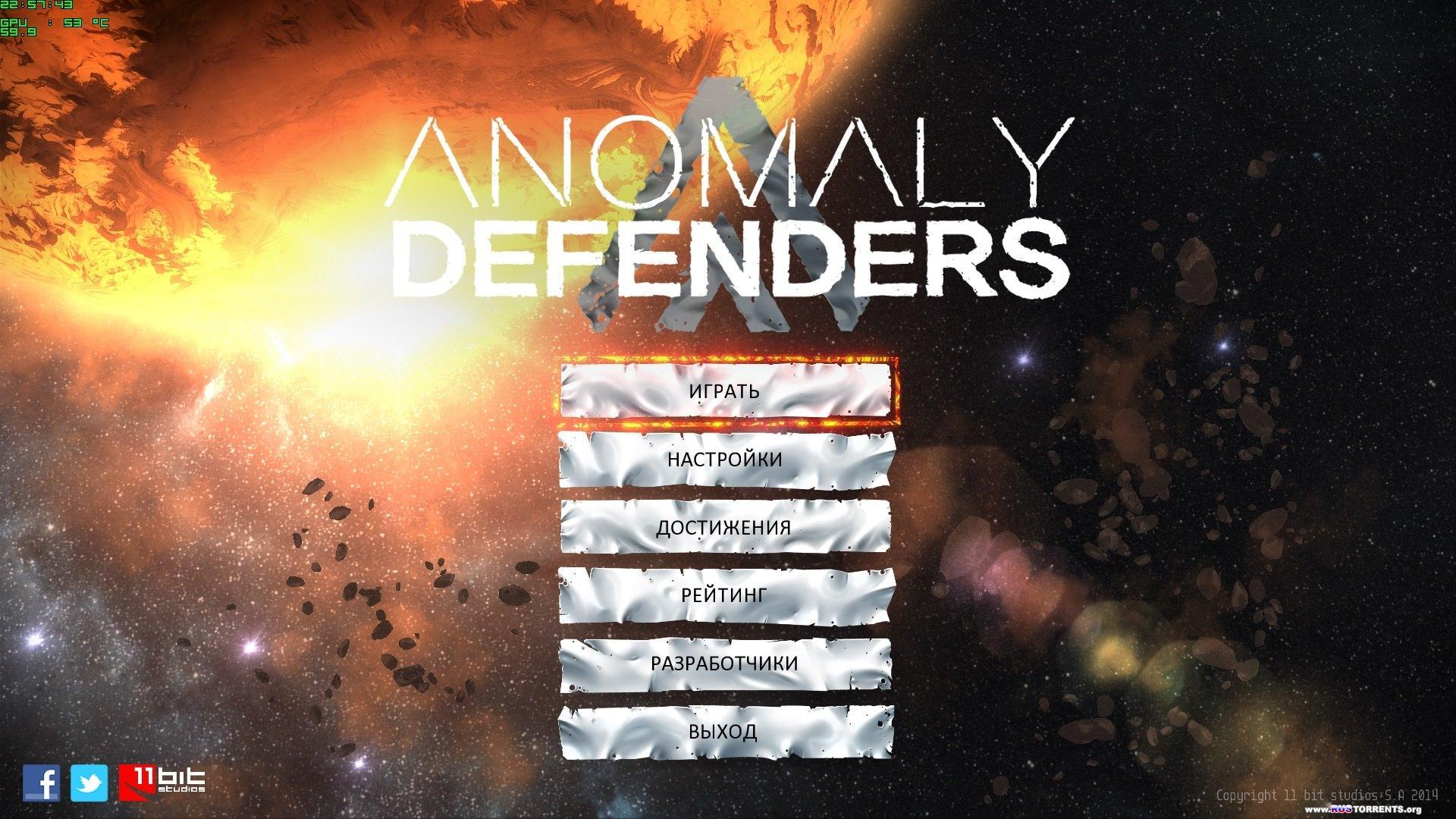 Anomaly Defenders | PC | RePack от xGhost