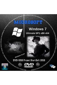 Windows 7 Ultimate SP1 x86/x64 StartSoft v.1-2-01-2015 RUS