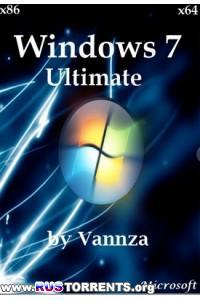 Windows 7 Ultimate x86/x64 by Vannza RUS