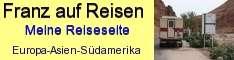 Private Reiseseite mit bebilderten Reiseberichten von Franz. Die mit Wohnmobil oder Mietwagen bereisten Länder sind Albanien, Griechenland, Fuerteventura, Marokko sowie Paraguay und Thailand.