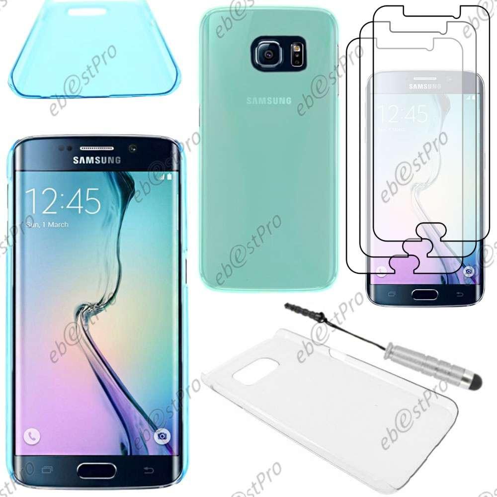 Etui-Housse-Coque-Rigide-Fine-sans-motif-Samsung-Galaxy-S7-S6-Edge-S5-S4-S3-Mini
