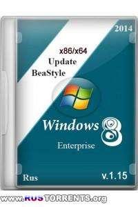 Windows 8.1 Enterprise x86/x64 Update BeaStyle v.1.15 RUS