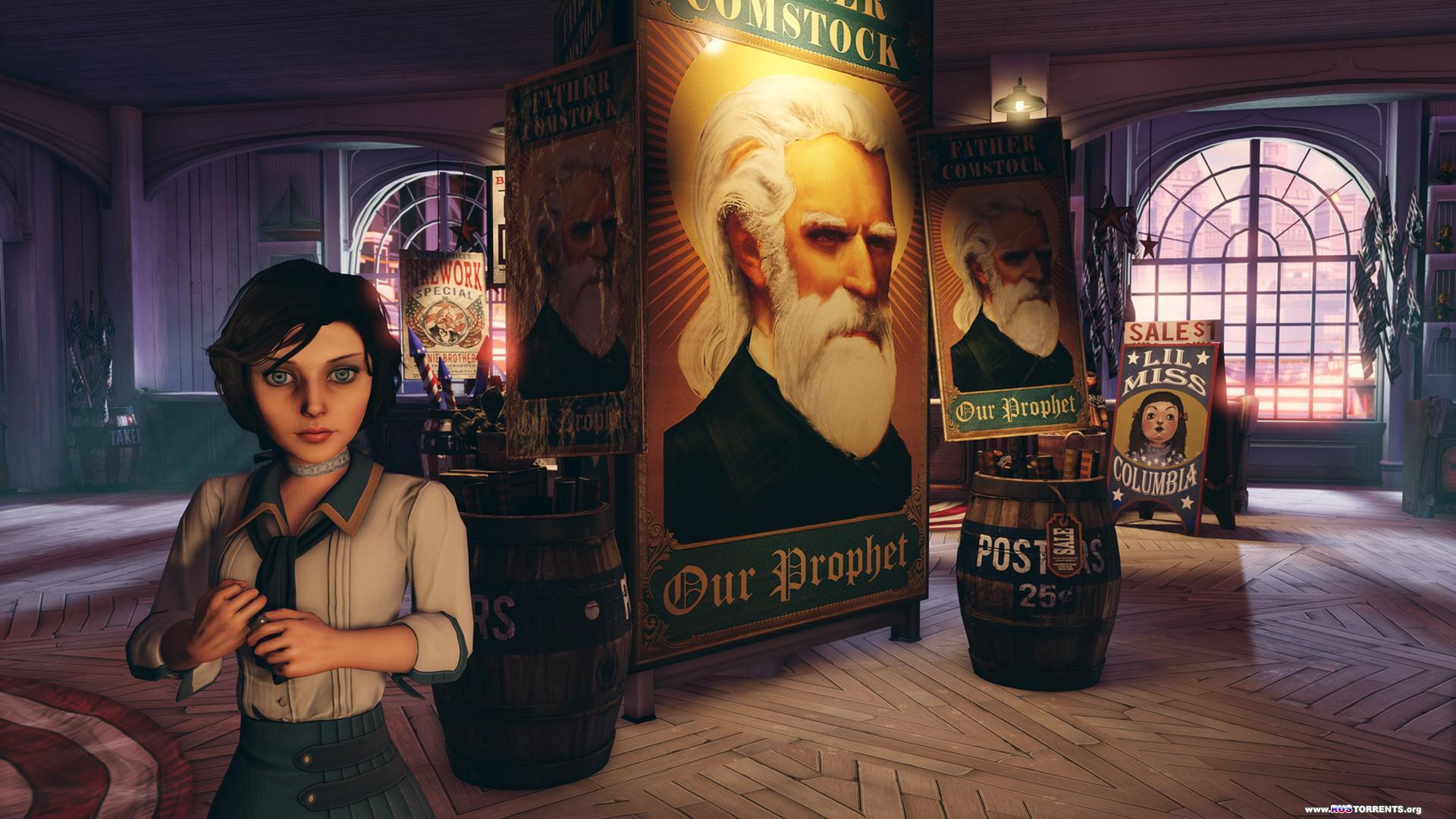 BioShock Infinite [v 1.1.25.5165 + DLC] | PC | Repack от Fenixx