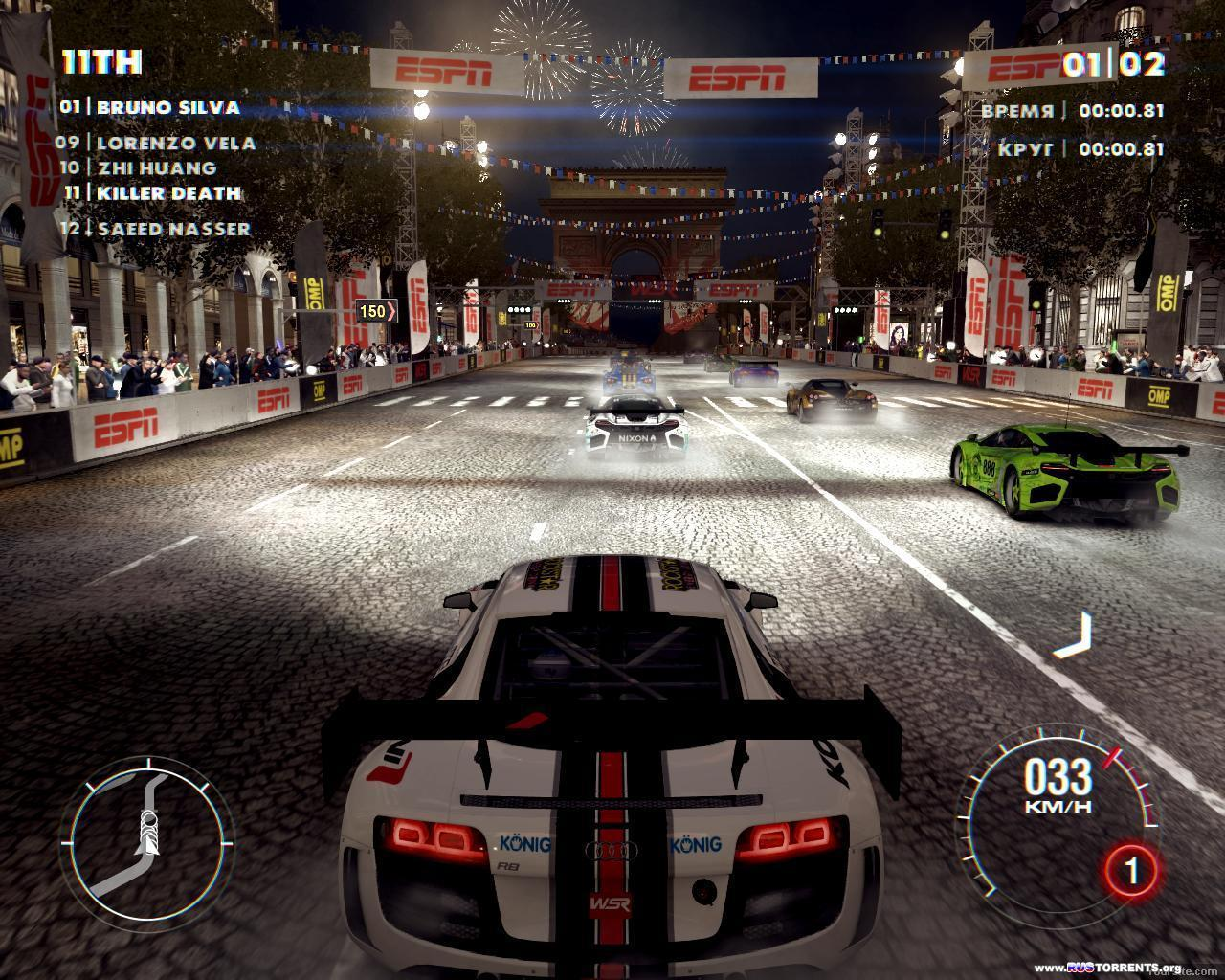 GRID 2 [v1.0.85.8679 + All In DLC Pack] | PC