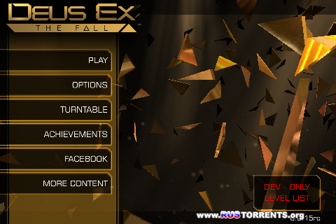 Deus Ex: The Fall v0.0.31 | Android