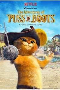 Приключения кота в сапогах [01 сезон: 01-15 серии из 15] | WEBRip 720p | NewStudio