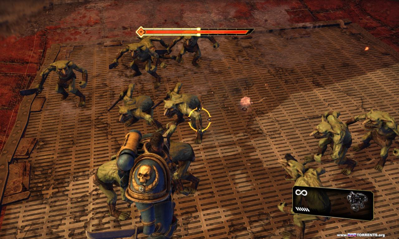 Warhammer 40.000: Space Marine | РС | RePack от R.G. Механики