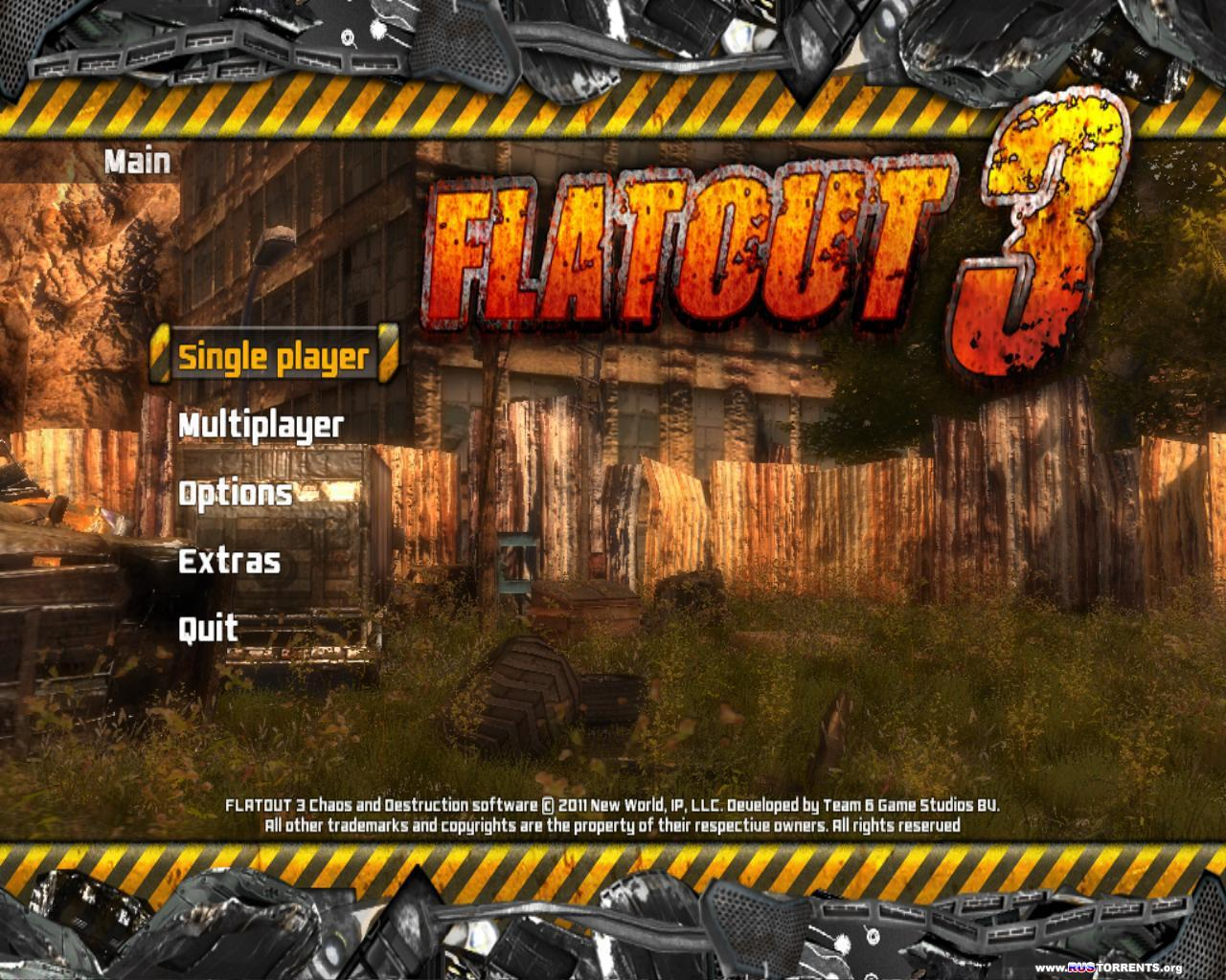 Flatout 3: Chaos & Destruction (ENG) | Lossless RePack �� R.G. UniGamers