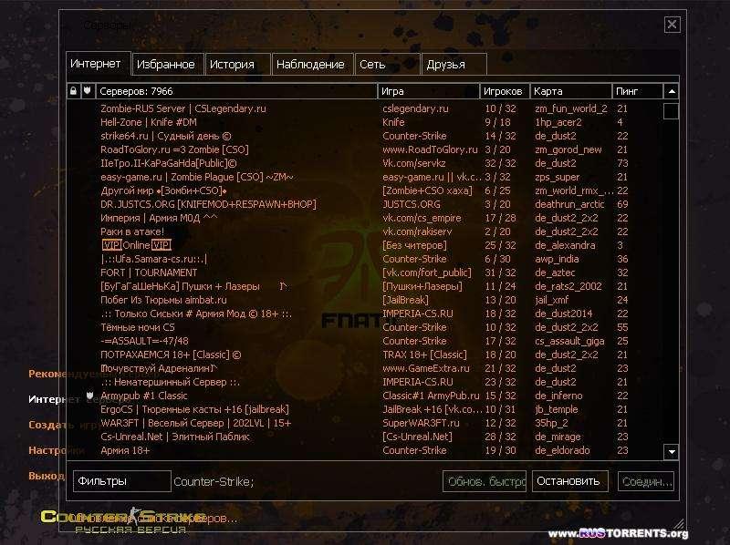 counter-strike 1.6 fnatik | PC