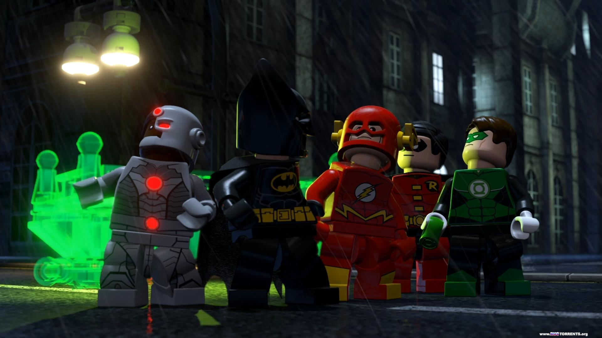 LEGO Бэтмен: Супер-герои DC объединяются | BDRip 1080p