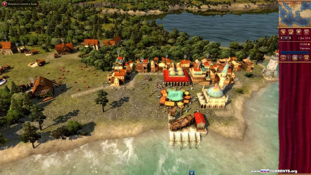Rise of Venice [v 1.1.2.4789 + 3 DLC] | PC | RePack от z10yded