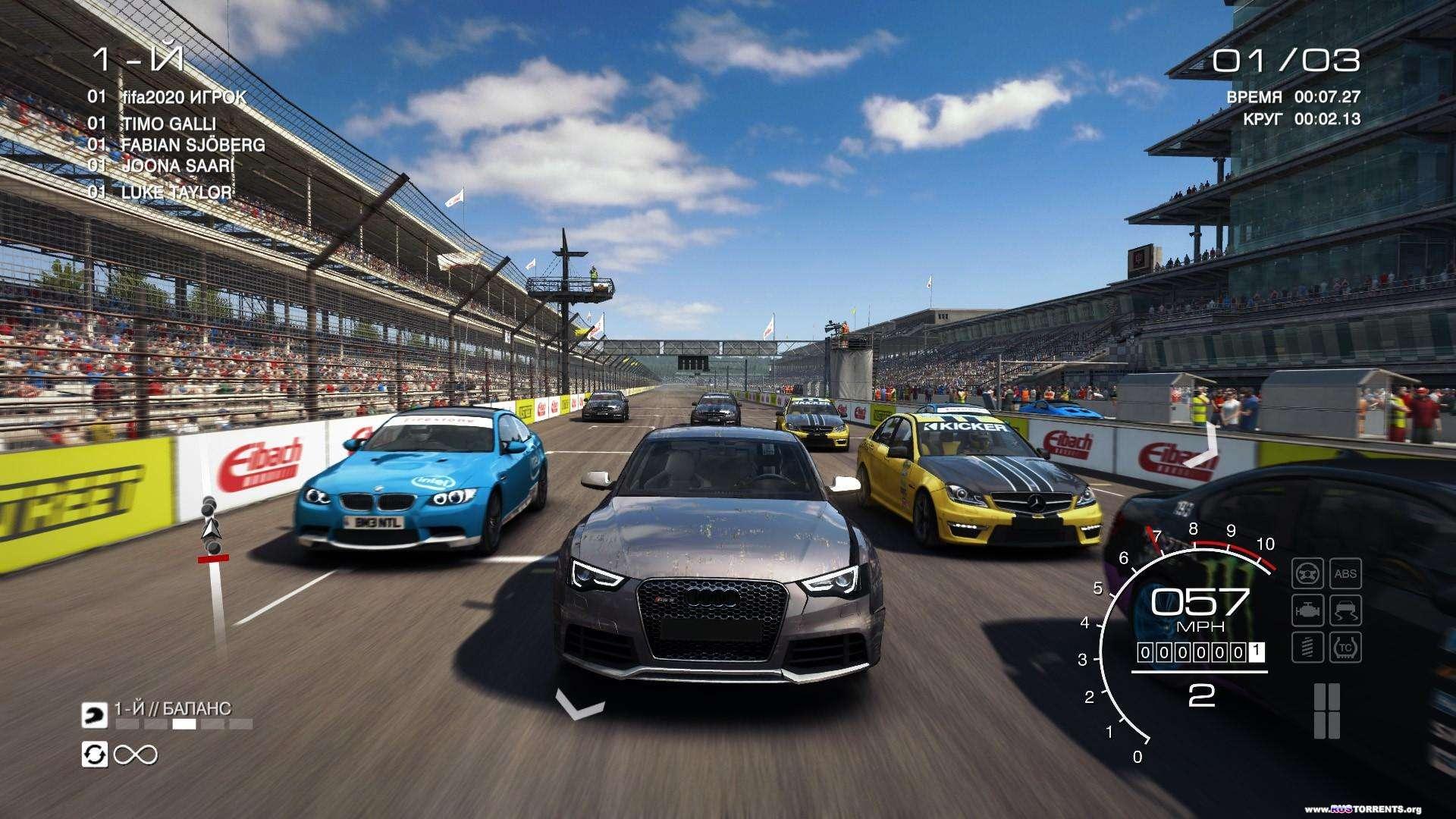 GRID: Autosport - Black Edition [+ DLC] | PC | Steam-Rip от R.G. Игроманы