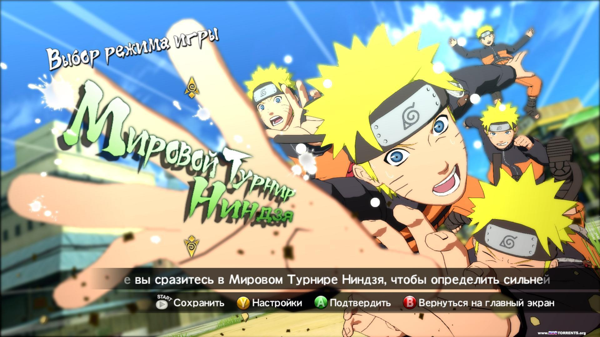 NARUTO SHIPPUDEN: Ultimate Ninja STORM Revolution | РС | RePack от R.G. Steamgames