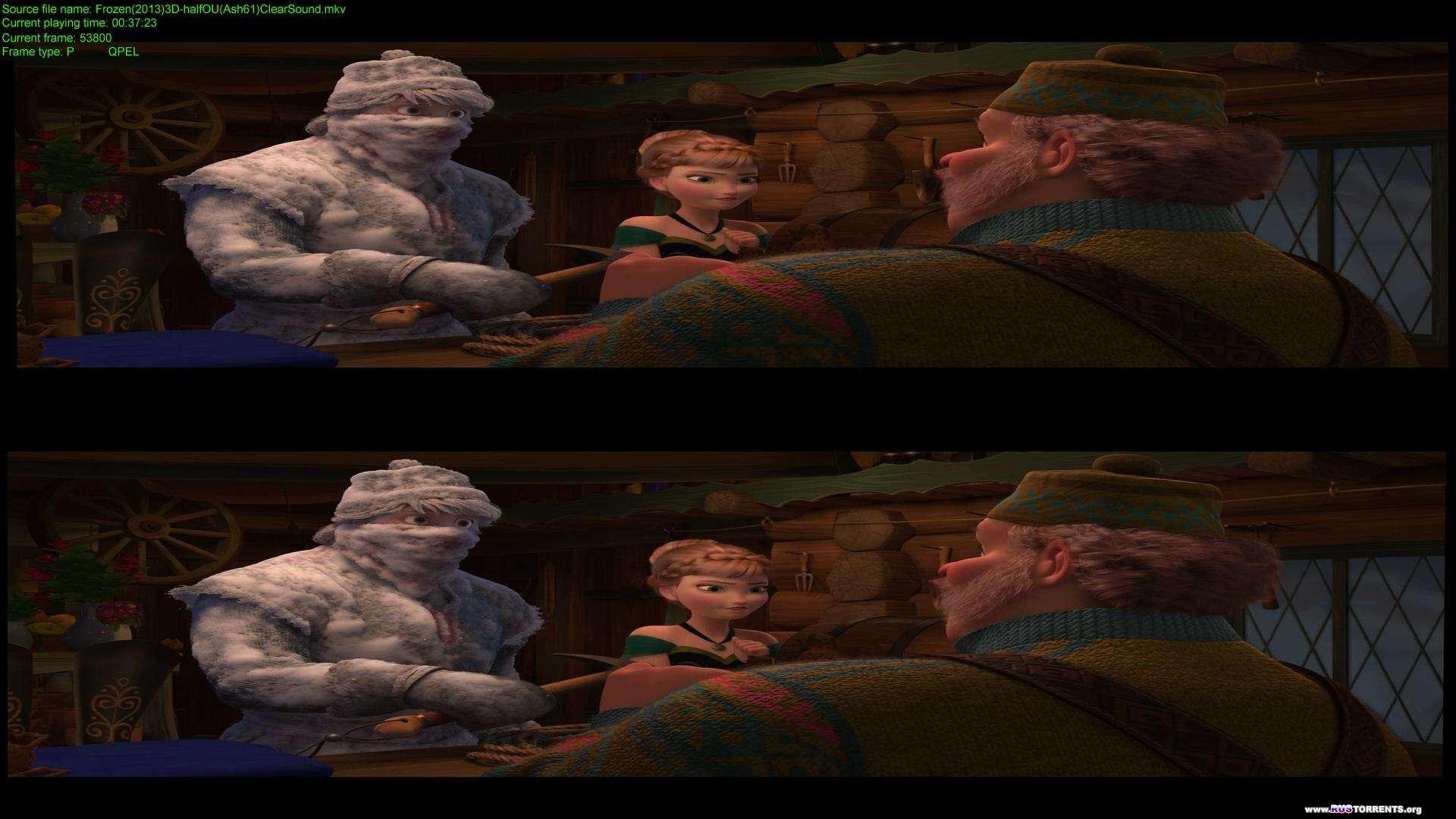 Холодное сердце   BDRip 1080p   3D-Video   halfOU   Лицензия