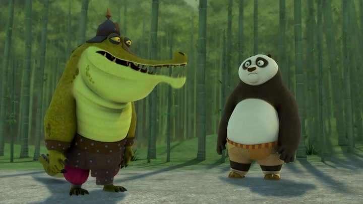 Кунг-фу Панда: Удивительные легенды [03 сезон: 01-28 серии из 28] | WEB-DLRip