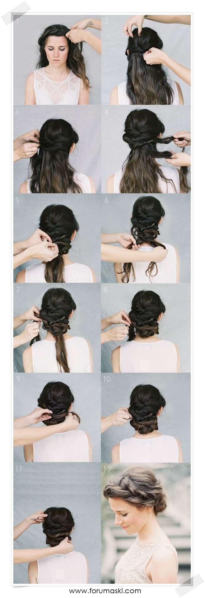 Греческие прически на длинные волосы в домашних условиях
