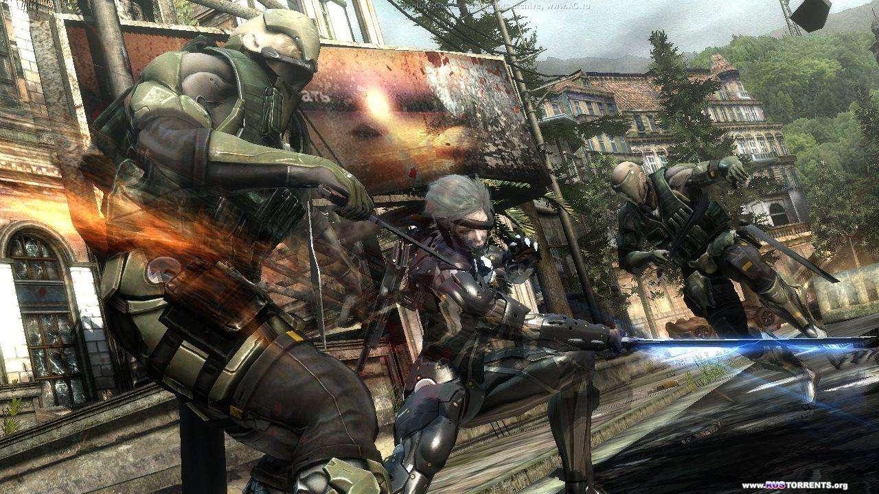 Metal Gear Rising: Revengeance + 4 DLC | Repack от R.G. Inferno | PS3