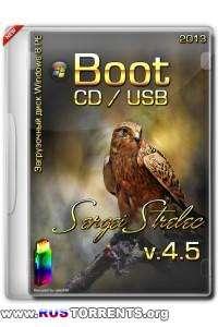 Boot CD/USB Sergei Strelec 2013 v.4.5 (Rus/Eng)