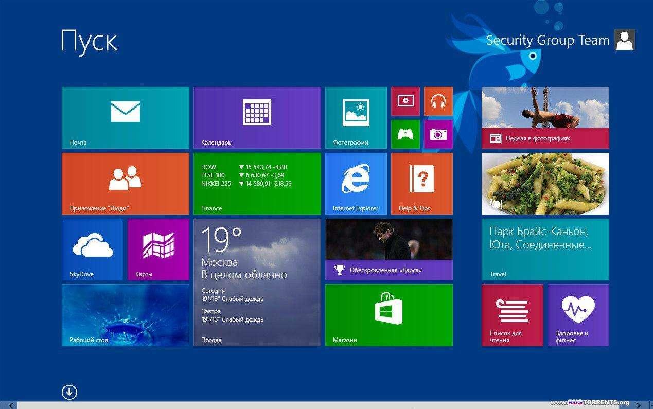 Windows 8.1 Pro x86/x64 by SG� RUS (07.2013)