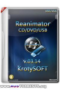 Reanimator CD/DVD/USB х86/х64 KrotySOFT v.03.14 RUS