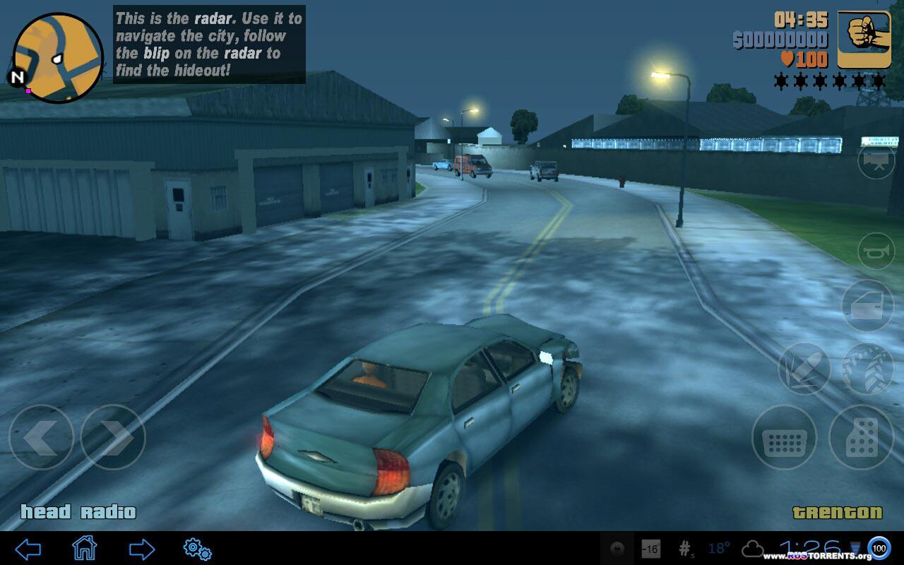 Grand Theft Auto 3 HD, MOD. [Android].
