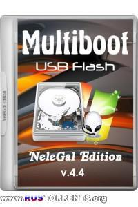 Multiboot USB Flash NeleGal Edition UEFI v.4.4 х86/х64 | PC