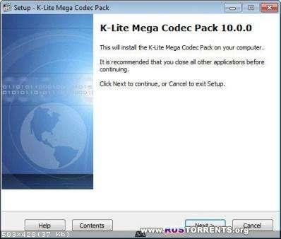 K-Lite Codec Pack 10.0.0 Mega/Full/Basic/Standard