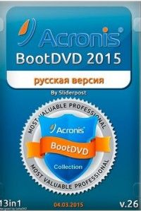 Acronis BootDVD 2015 Grub4Dos Edition 13in1 v.26