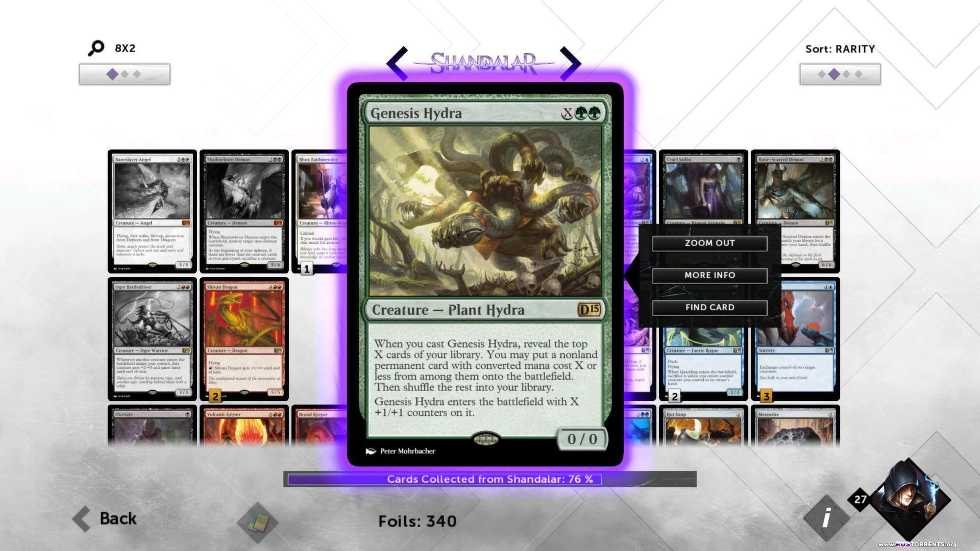Magic 2015: Duels of the Planeswalkers - The Complete Bundle | РС | Steam-Rip R.G. GameWorks