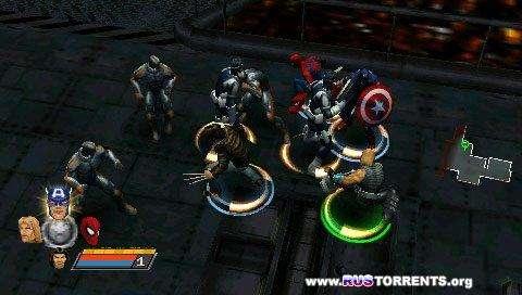 Marvel Ultimate Alliance (v2) (Greatest Hits) | PSP
