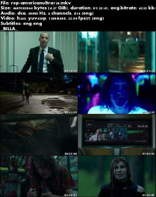 American Ultra (2015) 720p BluRay x264-Replica