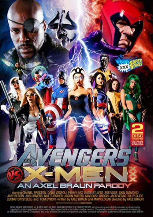 �������� VS ����� ��� | Avengers VS X-Men XXX Parody