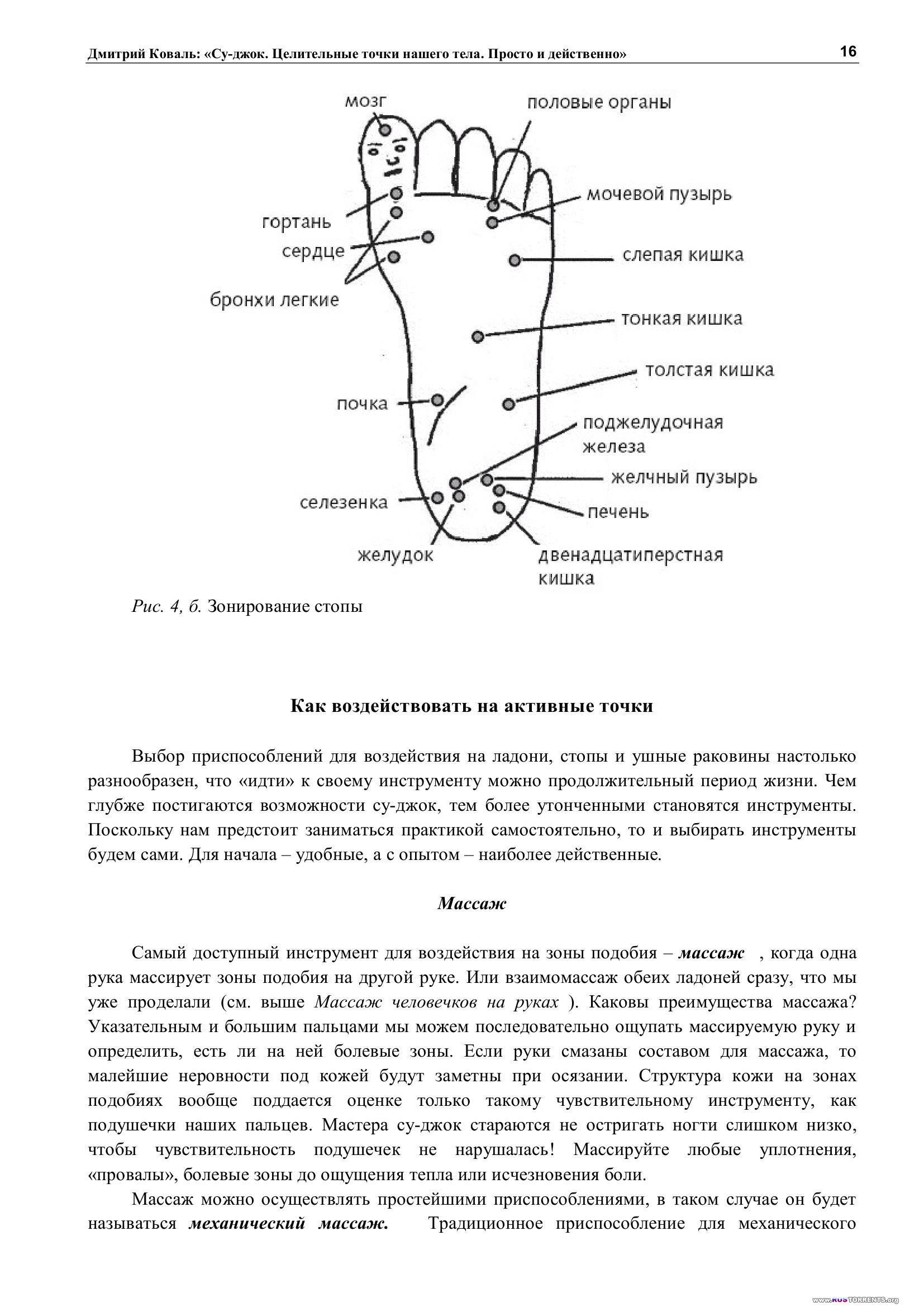 Су-джок. Целительные точки нашего тела. Просто и действенно | PDF
