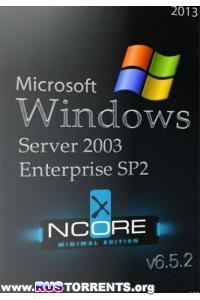 Windows Server 2003 Enterprise SP2 nCore v6.5.2 RUS