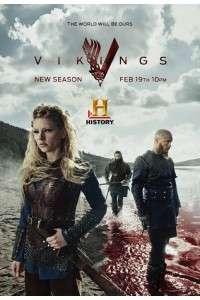 Викинги [03 сезон: 01-10 серии из 10] | WEB-DLRip | NewStudio