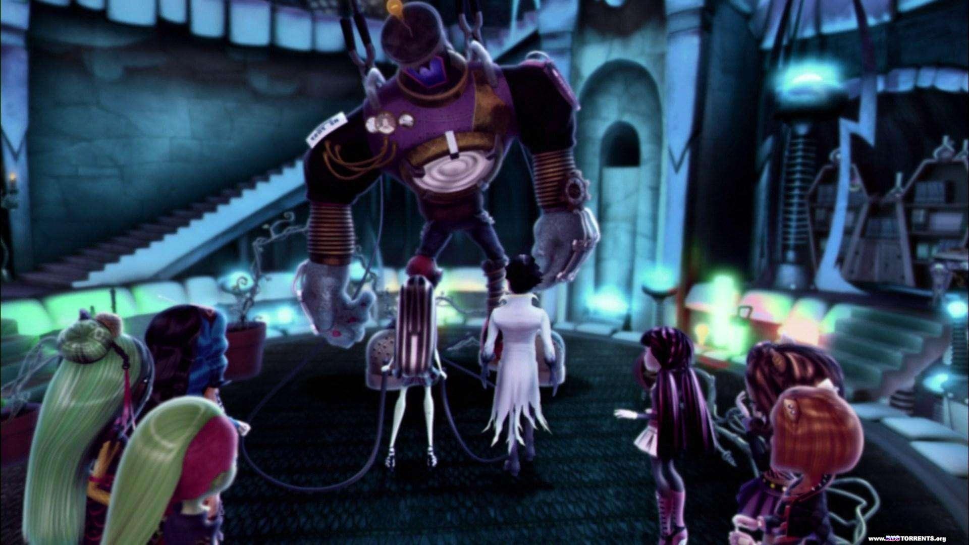 Школа монстров: Монстрические мутации | BDRip 1080p | Лицензия