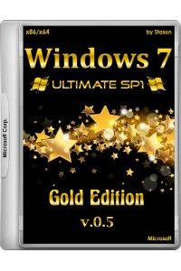 Windows 7 SP1 Ultimate Gold Edition x86/x64 by Stason v.0.5 RUS