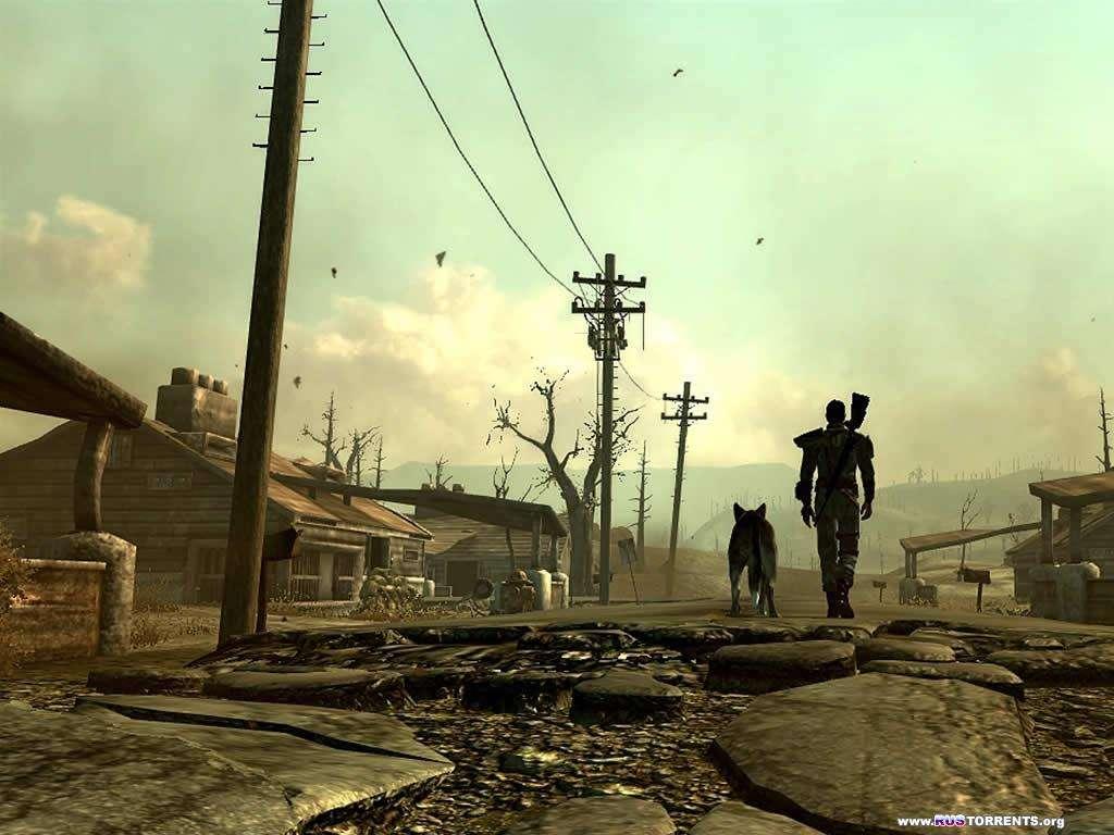 Fallout 3 - Золотое издание (2010/ Rus/ 5 DLC)