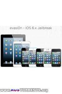 Джейлбрейк iOS 6.1 от Evad3rs v 1.4 (Windows) [6.1+jailbreak]