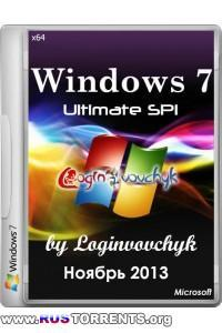 Windows 7 Ultimate SP1 x64 by Loginvovchyk 11.2013 RUS