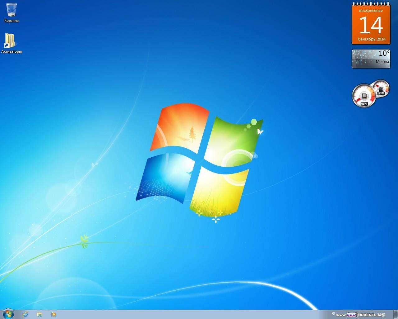 Windows 7 ������������ Orig w.BootMenu x86/x64 by OVGorskiy 09.2014 RUS