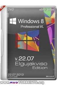 Windows 8 Pro VL x64 Elgujakviso Edition v.22.07 RUS