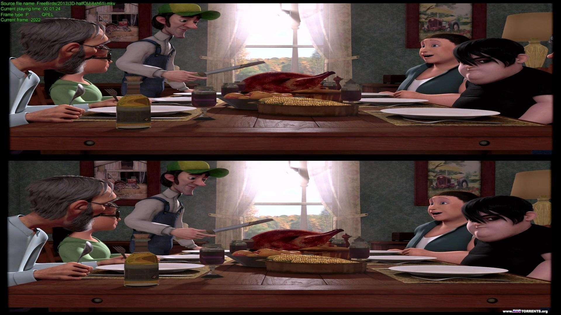 Индюки: Назад в будущее | BDRip 1080p | 3D-Video | halfOU